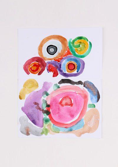 Erich Krause vodové farby 18