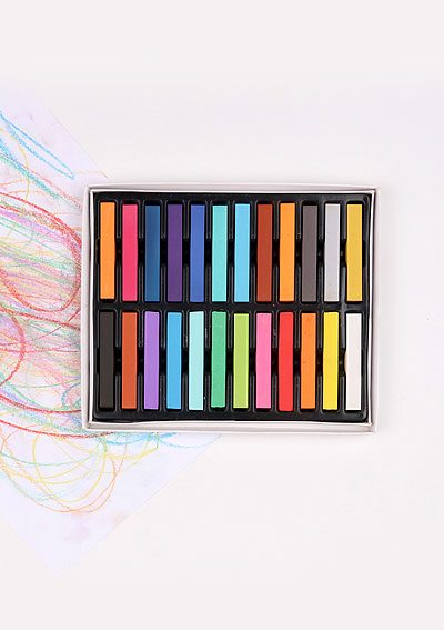 Suchý pastel EASY creative 24