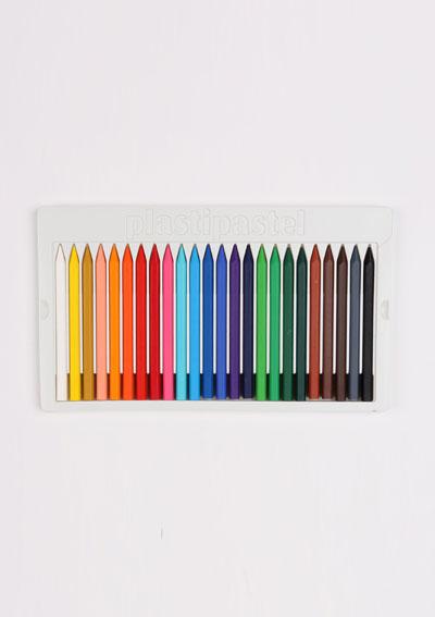 Plastické pastelky MILAN 24