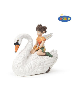Chlapec elf a labuť