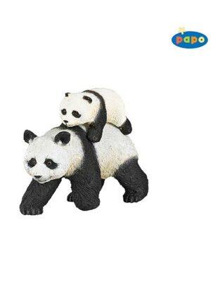 Panda s mláďaťom