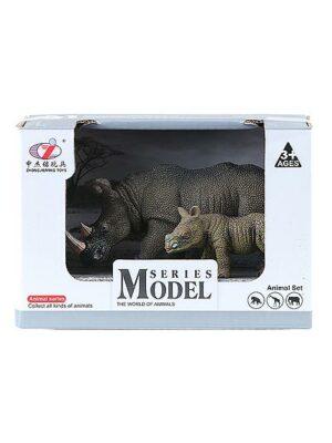 Nosorožec s mláďaťom