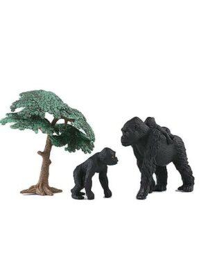 Gorila s mláďatami
