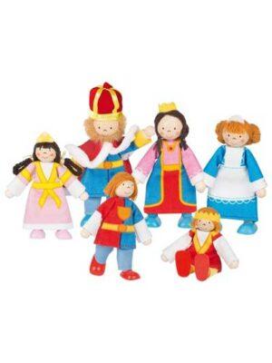 Kráľovská rodina – flexibilné figúrky