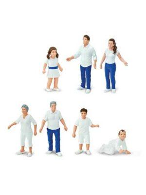 Realistická rodina III – malé figúrky