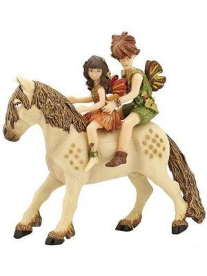 Deti elfovia na poníkovi
