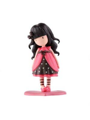 Dievčatko Gorjuss – ružové šaty