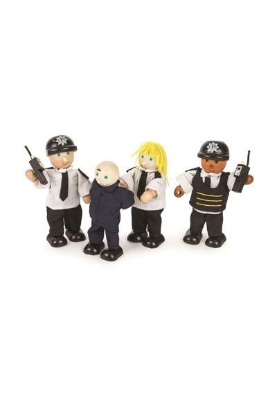 Postavičky policajti a zločinec
