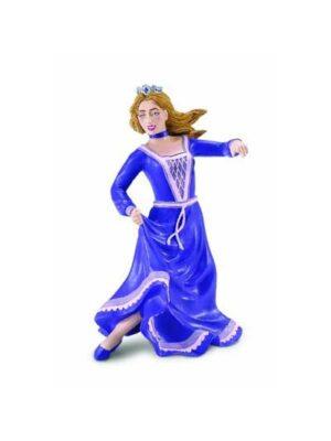 Tancujúca princezná – fialové šaty