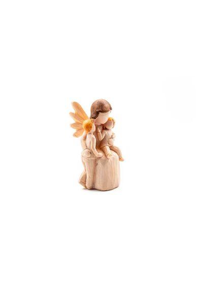 Anjel s dvoma deťmi
