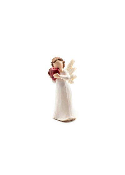 Anjel so srdiečkom