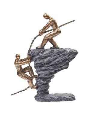 Metafora: záchranné lano – záchranca a človek v núdzi